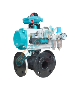 30T/L01 Three way ball valve