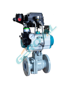 30C05 Lined with PTFE ball valve
