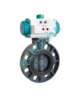 70S11 Plastic butterfly valve