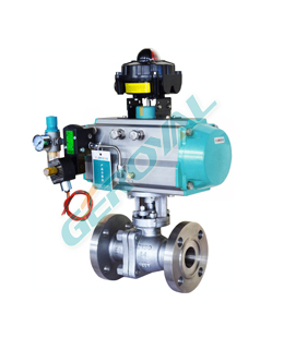 30E01 Metal sealing Ball Valve
