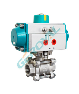 30N01 Three piece ball valve